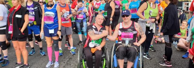 Great North Run 2018 wheelchair participants