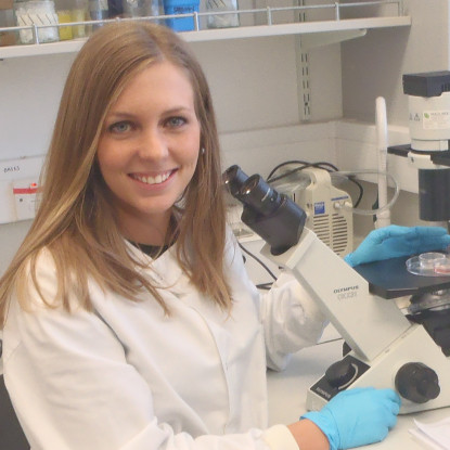Spinal Research student, Alba
