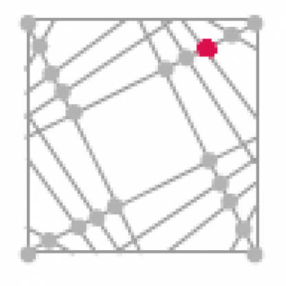 Abstract grid icon