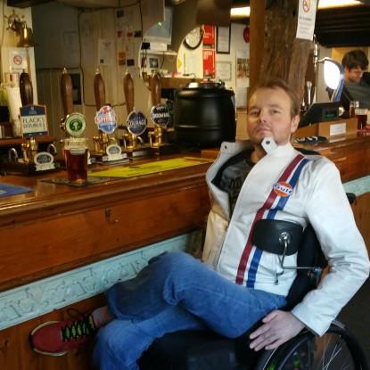 Swen in the pub