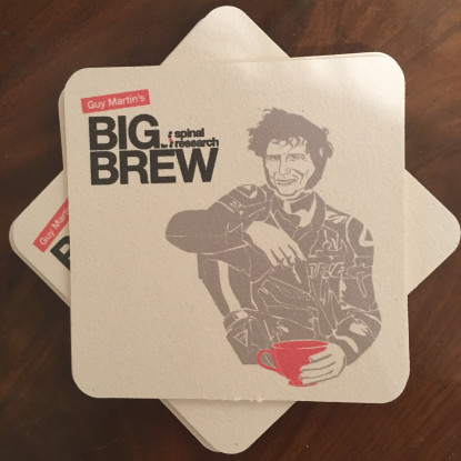 Guy Martin Big Brew coasters