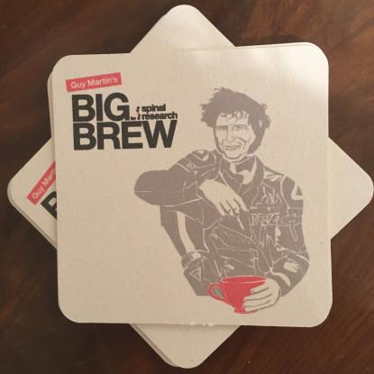 Guy Martin Big Brew coasters