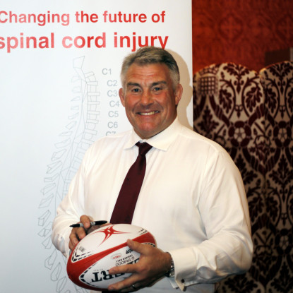 Jason Leonard OBE, Spinal Research Patron