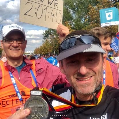 Berlin Marathon 2018 runner