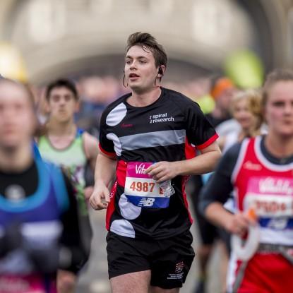 The Big Half 2018 runner (Photo credit - Joe Toth for The Vitality Big Half)