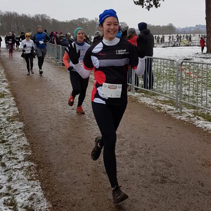 Hampton Court Half 2018 runner