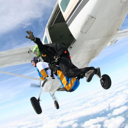 a research on skydiving Skydiving for science commonwealth scientific and industrial research were generated by skydiving out of an airplane with the use of a.