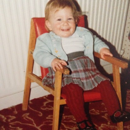 Lerona as a toddler