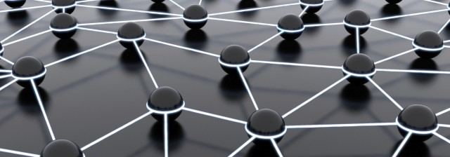 image of a network of lines