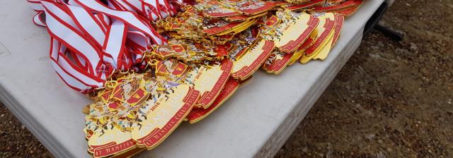 Hampton Court Half 2018 medals