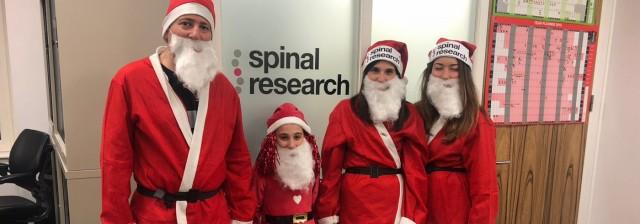 Santa in the City 2018 runners