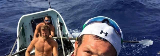 The last leg on the ocean